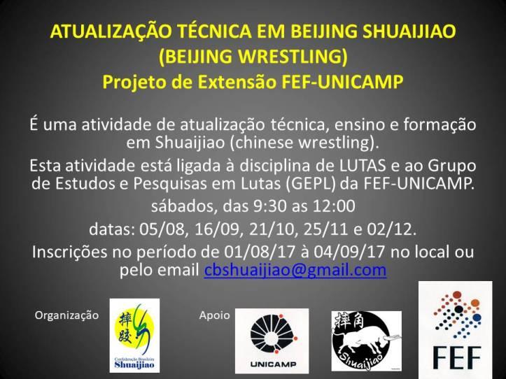 Extensão Unicamp 2017 2